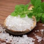 Inhalieren mit Salz