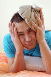 Inhalieren bei Stirnhöhlenentzündung