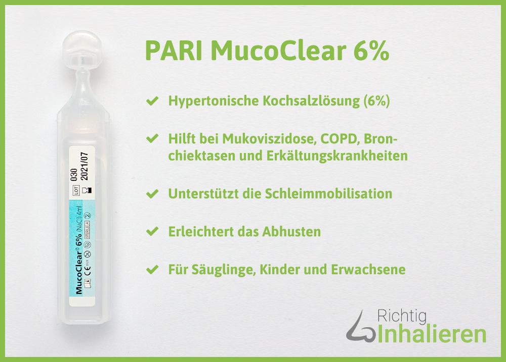PARI MucoClear 6%
